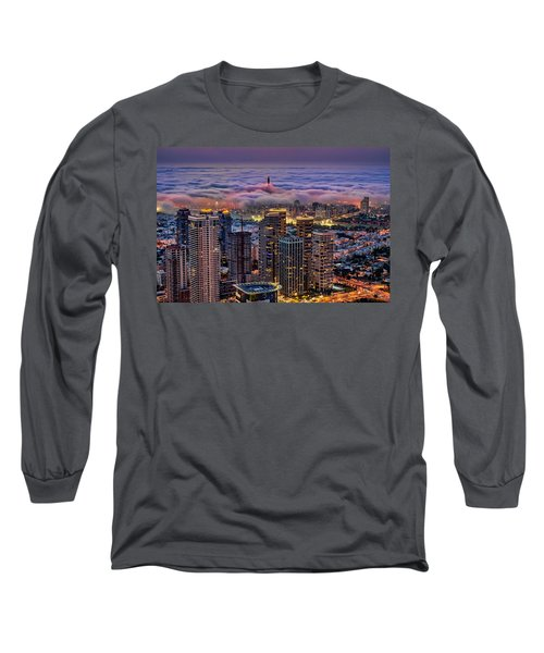 Long Sleeve T-Shirt featuring the photograph Not Hong Kong by Ron Shoshani