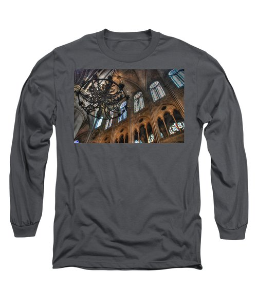 Notre Dame Interior Long Sleeve T-Shirt