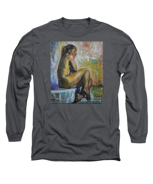 Nude Eva 1 Long Sleeve T-Shirt