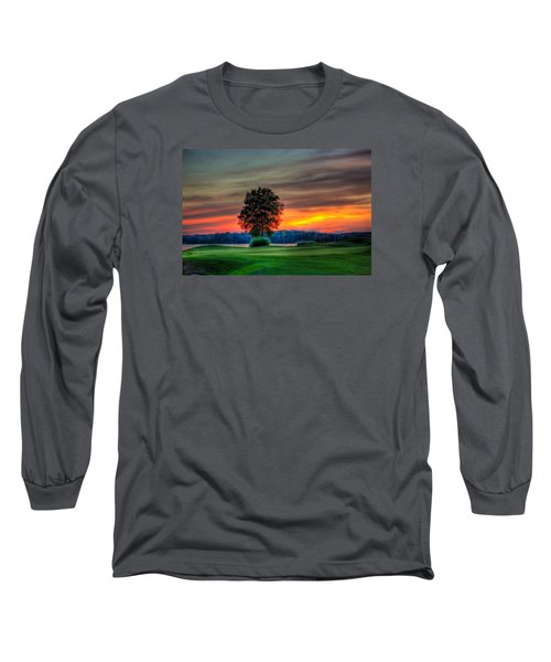 Number 4 The Landing Reynolds Plantation Art Long Sleeve T-Shirt