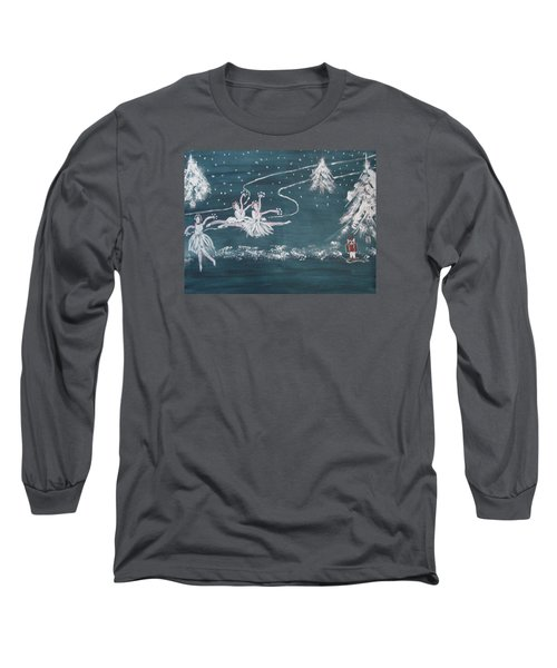 Nutcrackers Dance Of The Snowflakes Long Sleeve T-Shirt