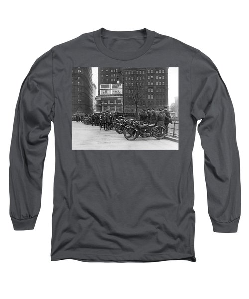 Ny Motorcycle Police Long Sleeve T-Shirt