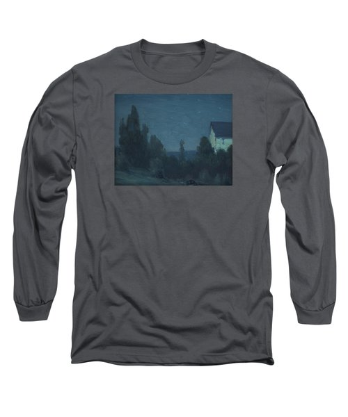 Starry Night  Long Sleeve T-Shirt by Gustave Wiegand