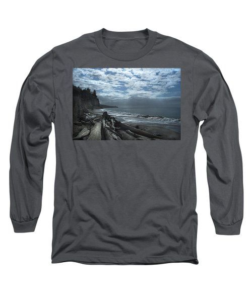 Ocean Beach Pacific Northwest Long Sleeve T-Shirt