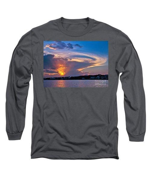 Ocean Isle Sunset Long Sleeve T-Shirt