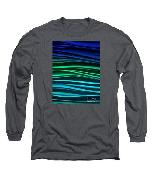 Ocean Long Sleeve T-Shirt by Ranjini Kandasamy