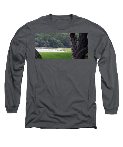 Ocean Spray At Hilton Head Island Long Sleeve T-Shirt