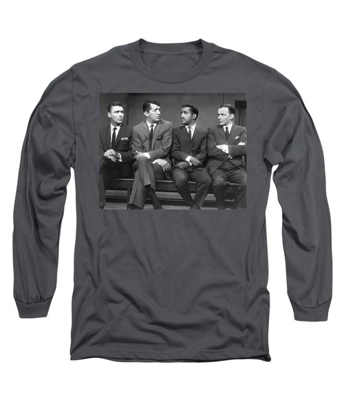 Ocean's Eleven Rat Pack Long Sleeve T-Shirt by Underwood Archives
