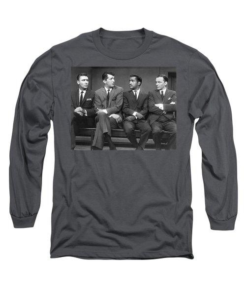 Ocean's Eleven Rat Pack Long Sleeve T-Shirt