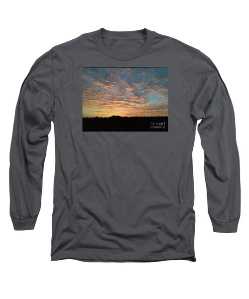 October Sunrise Long Sleeve T-Shirt by Susan Williams