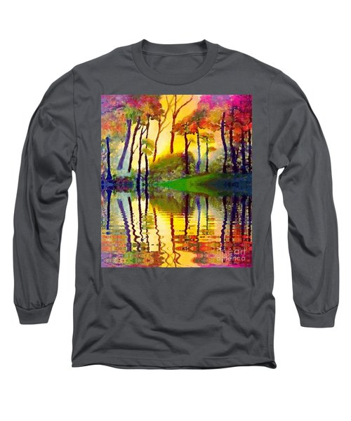 October Surprise Long Sleeve T-Shirt by Holly Martinson