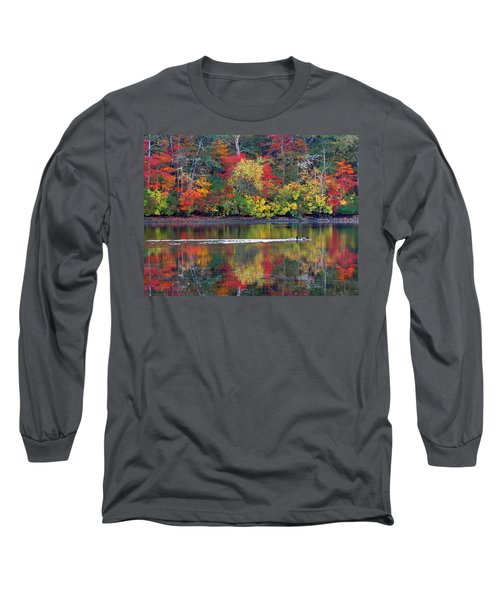 Long Sleeve T-Shirt featuring the photograph October's Colors by Dianne Cowen
