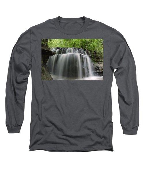 Odom Creek Waterfall Georgia Long Sleeve T-Shirt
