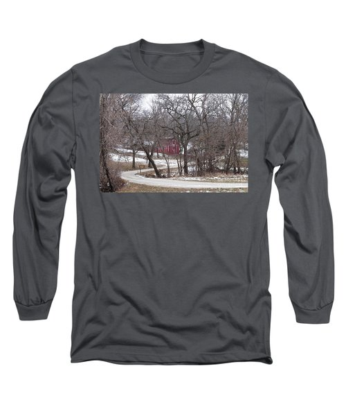 Off The Beaten Path Long Sleeve T-Shirt by Liane Wright