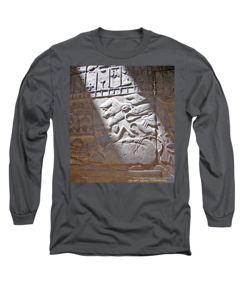 Offerings  Long Sleeve T-Shirt by Leena Pekkalainen