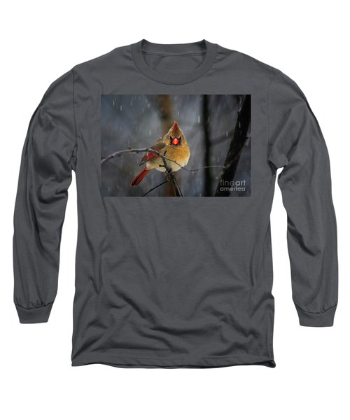 Oh No Not Again Long Sleeve T-Shirt by Lois Bryan