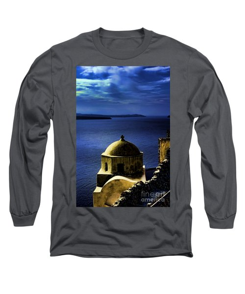 Oia Greece Long Sleeve T-Shirt
