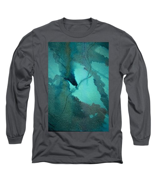 Oil Spill Deep Within The Heart Of The Gulf Long Sleeve T-Shirt