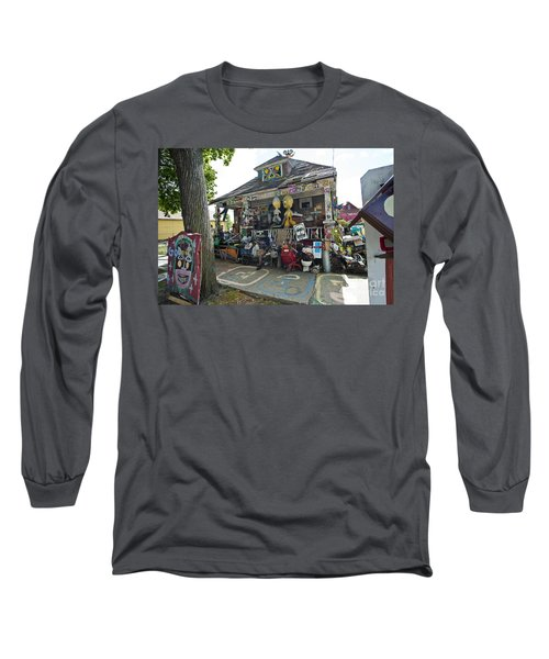 Oj House Long Sleeve T-Shirt
