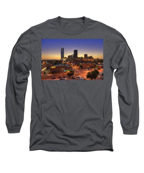 Oklahoma City Nights Long Sleeve T-Shirt