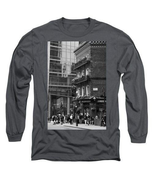Long Sleeve T-Shirt featuring the photograph Old And New by Chevy Fleet