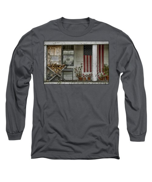 Old Apple Orchard Porch Long Sleeve T-Shirt