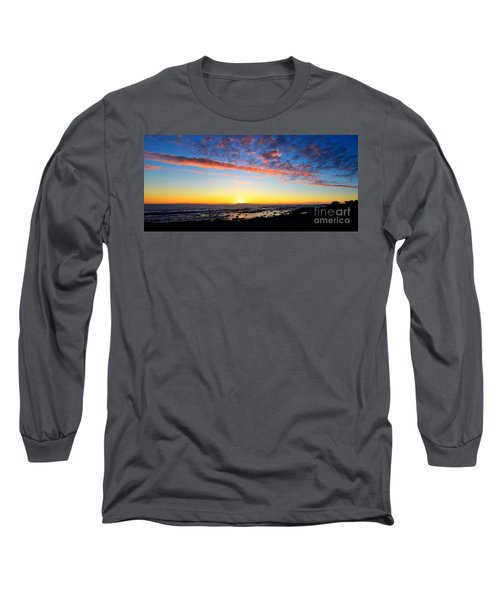 Long Sleeve T-Shirt featuring the photograph Old A's Panorama by David Lawson