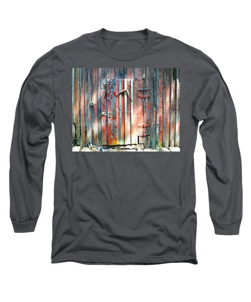 Old Barn Door 2 Long Sleeve T-Shirt