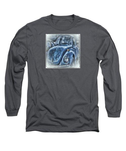 Old Blue Bug Long Sleeve T-Shirt