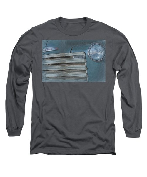 Old Blue Long Sleeve T-Shirt by Lynn Sprowl