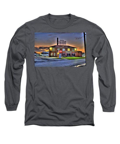 Old Coca Cola Bottling Plant Long Sleeve T-Shirt by Jonny D