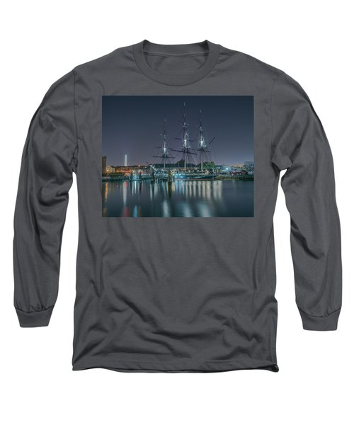 Old Iron Sides Long Sleeve T-Shirt