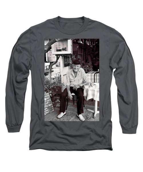 Old Man Of Old Town Long Sleeve T-Shirt