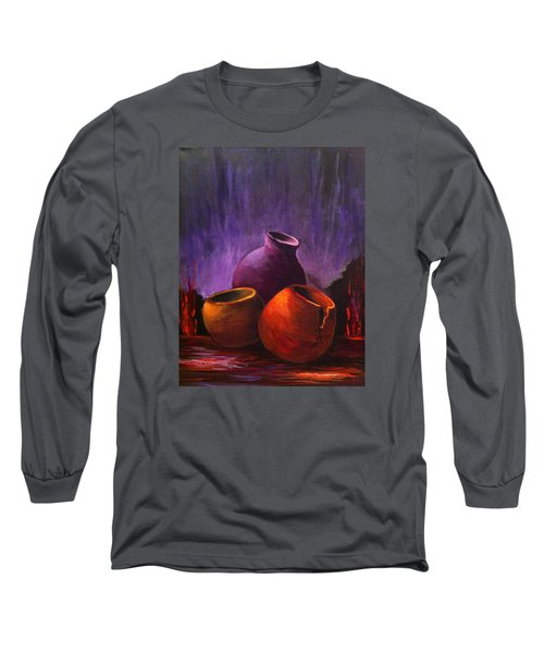 Old Pots 2 Long Sleeve T-Shirt