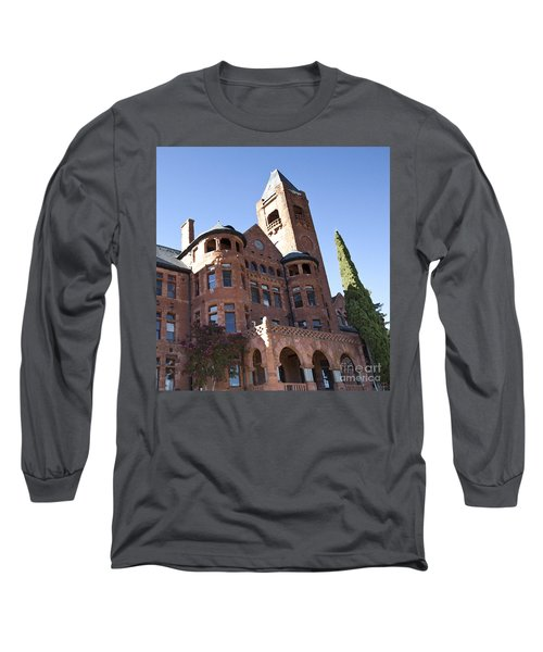 Long Sleeve T-Shirt featuring the photograph Old Preston Castle by David Millenheft