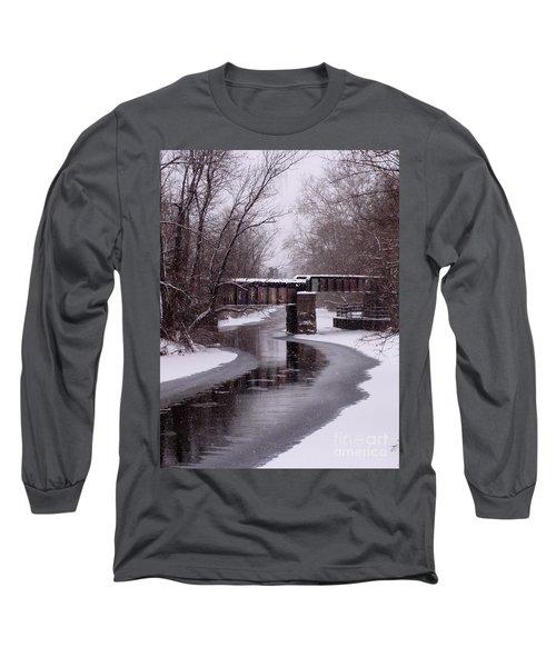The Nifti Railroad Bridge Long Sleeve T-Shirt