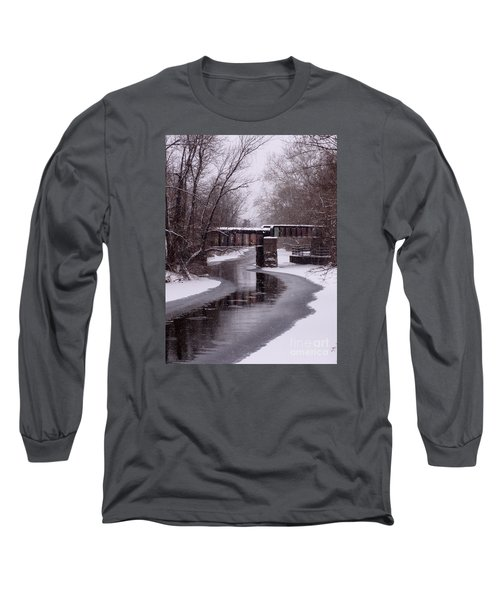 The Nifti Railroad Bridge Long Sleeve T-Shirt