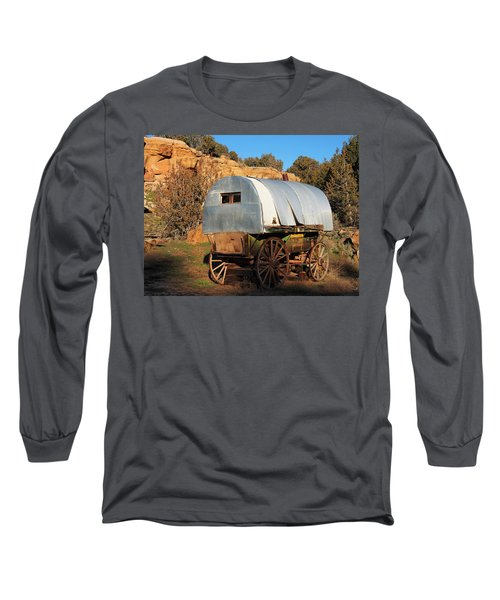 Old Sheepherder's Wagon Long Sleeve T-Shirt