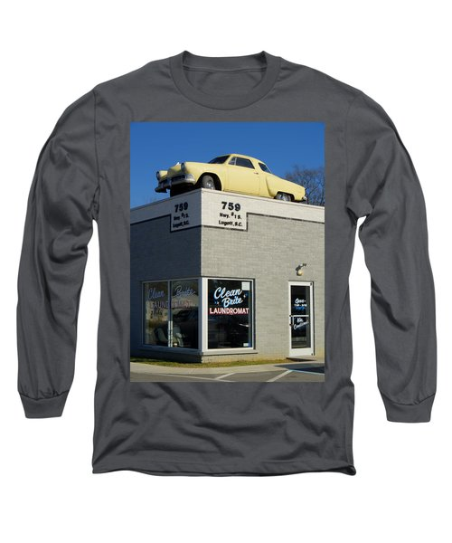Old Studebaker Building Long Sleeve T-Shirt
