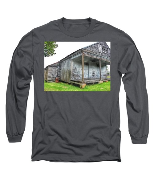 Old Theriot Post Office Long Sleeve T-Shirt