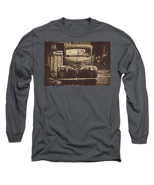 Long Sleeve T-Shirt featuring the photograph Old Times by Alana Ranney