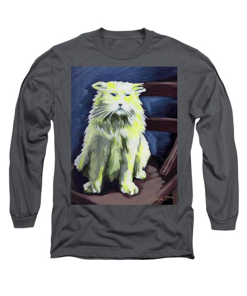 Old World Cat Long Sleeve T-Shirt