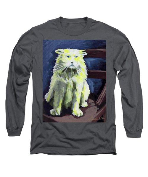 Old World Cat Long Sleeve T-Shirt