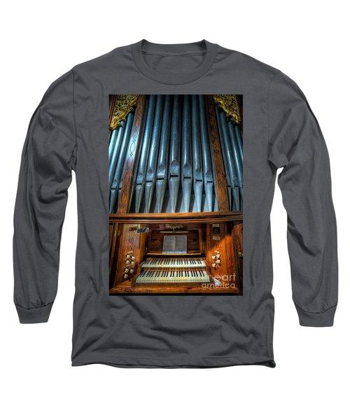 Olde Church Organ Long Sleeve T-Shirt