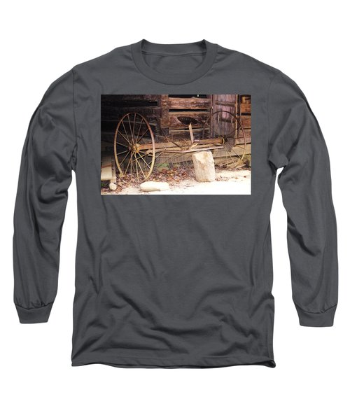 Long Sleeve T-Shirt featuring the photograph Ole Wheely by Faith Williams