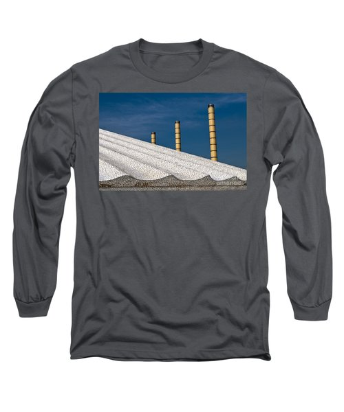Olympic Columns Long Sleeve T-Shirt by Lana Enderle