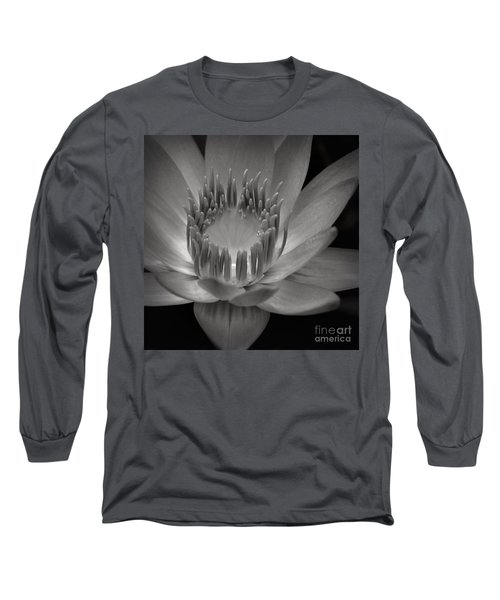 Om Mani Padme Hum Hail To The Jewel In The Lotus Long Sleeve T-Shirt by Sharon Mau
