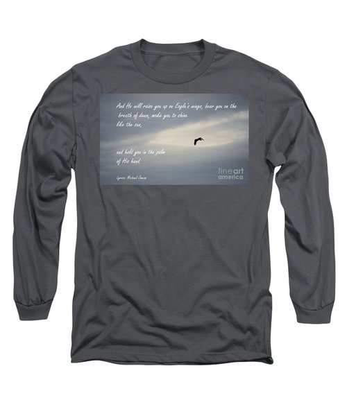 On Eagle's Wings Long Sleeve T-Shirt