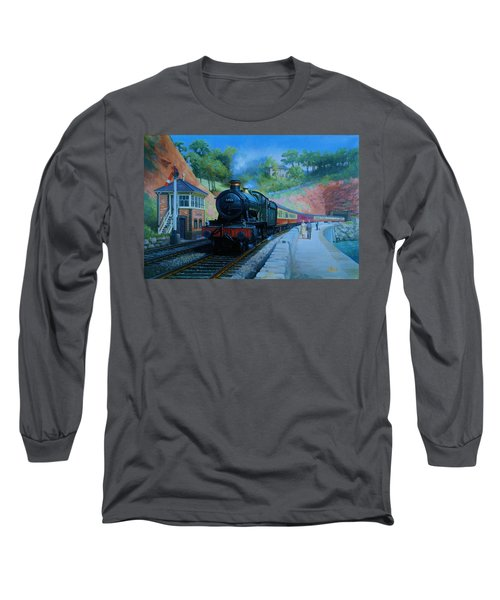 On The Sea Wall. Long Sleeve T-Shirt
