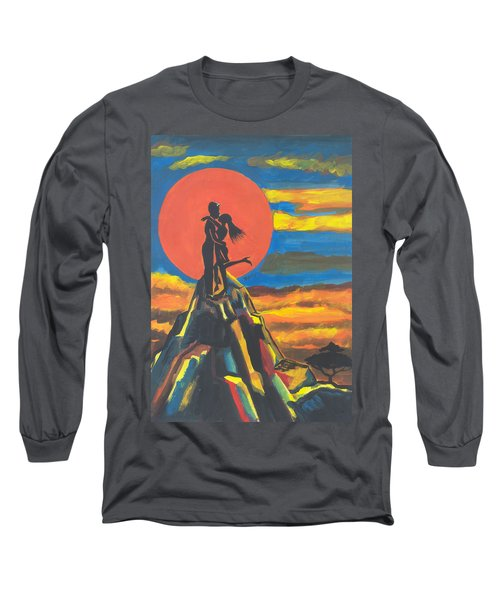 On The Summit Of Love Long Sleeve T-Shirt